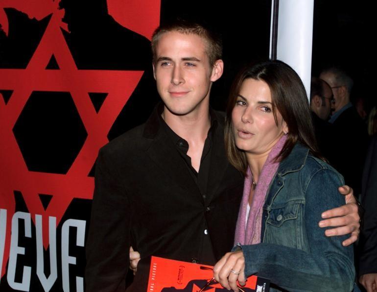 Когда Райану было 20, он закрутил роман с актрисой Сандрой Баллок