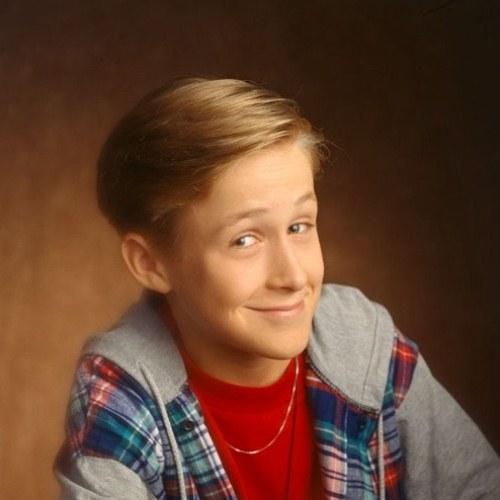 С самого детства Райан Гослинг был харизматичным и улыбчивым